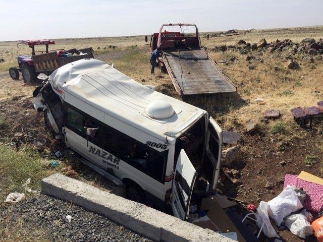 Diyarbakır'da feci kaza: 6 ölü!