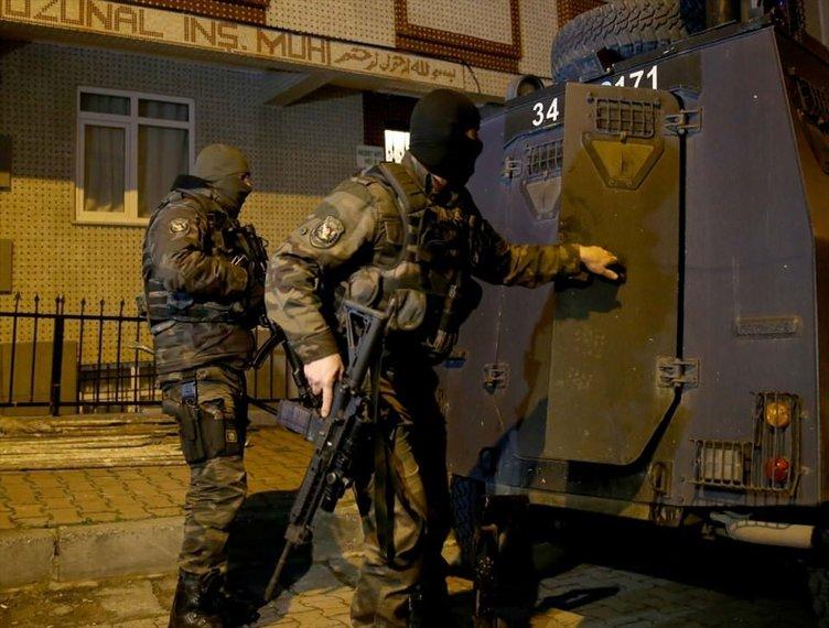 İstanbul'da dev PKK operasyonu!