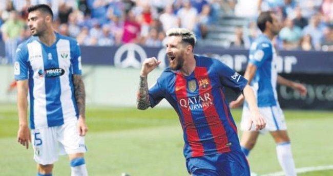 Messi penaltı şanssızlığını kırdı