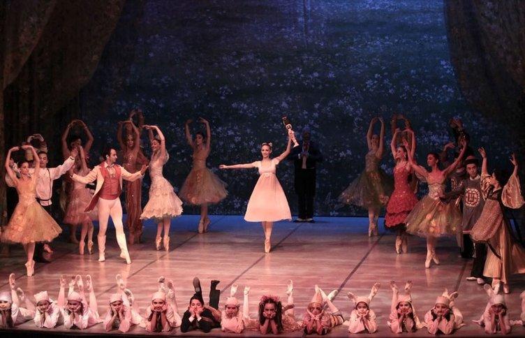 Samsun'da Fındıkkıran balesi sahnelendi