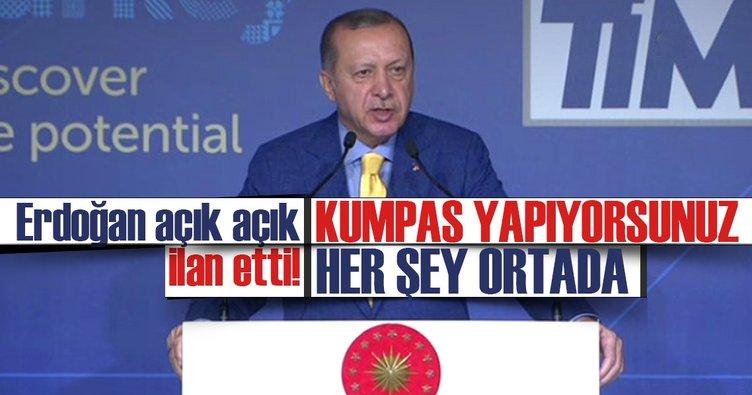 Cumhurbaşkanı Erdoğan kredi derecelendirme kuruluşlarına seslendi