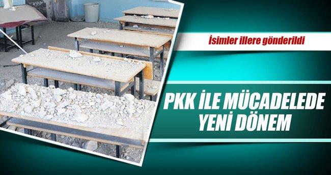 Okullar FETÖ'den sonra PKK'dan da temizleniyor