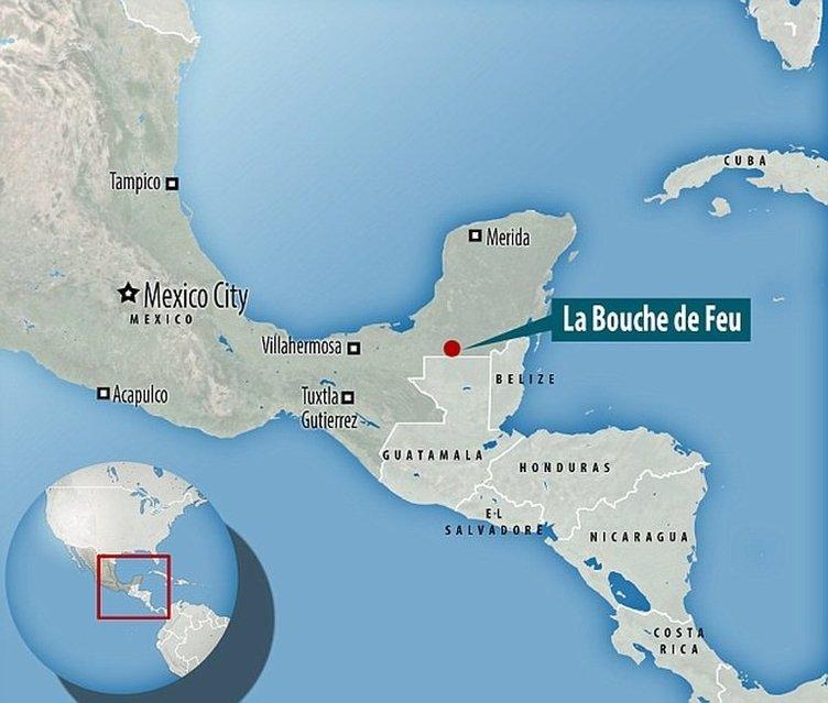 Kayıp maya şehri bulundu