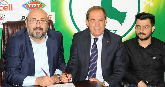 Giresunspor'da Yücel İldiz imzayı attı