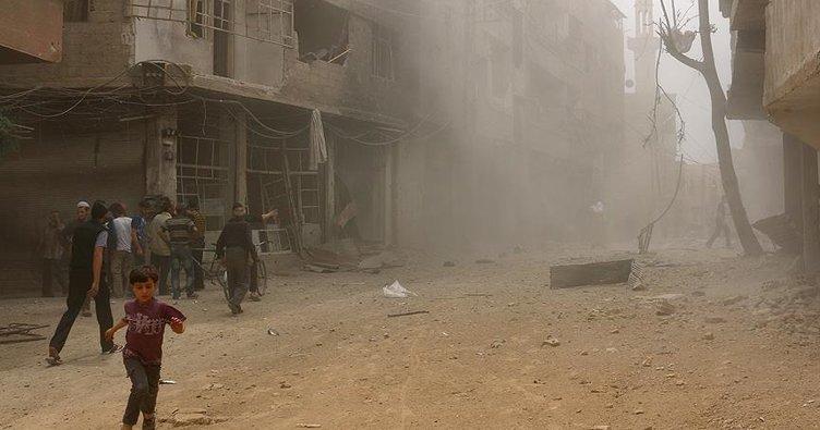 Esad 'çatışmasızlık bölgeleri'ni vuruyor