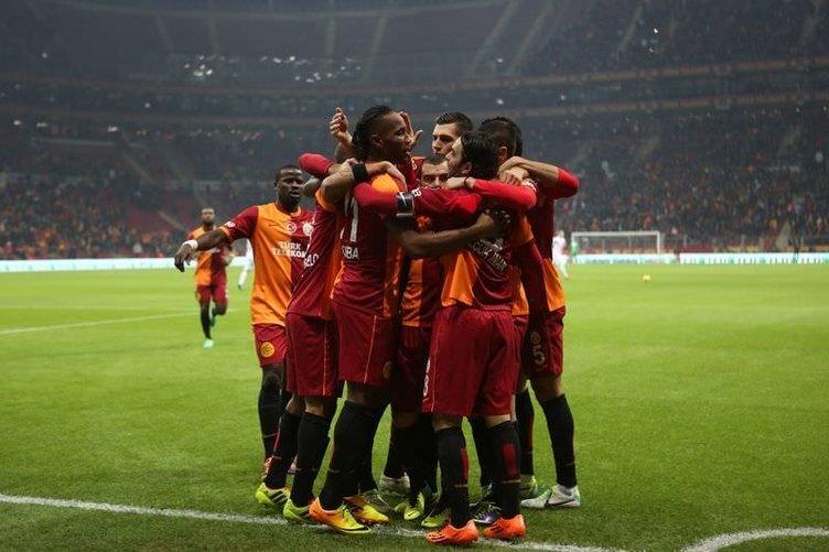 Galatasaray - Elazığspor maçından kareler