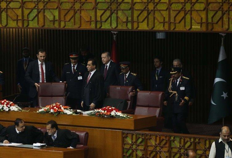 Erdoğan Pakistan Meclisi'ne hitap etti
