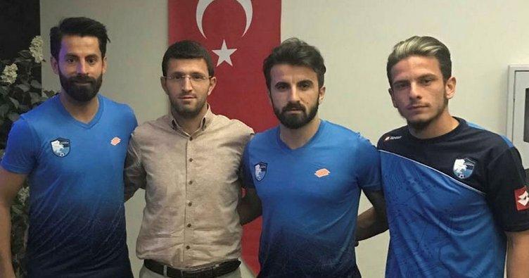 Erzurumspor'da 3 imza birden