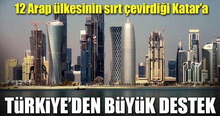Türkiye'de Katar'a büyük destek