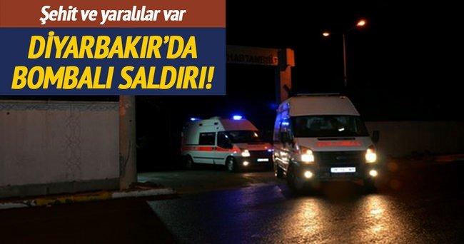 Diyarbakır'da jandarma karakoluna bombalı saldırı! - 02.05.2016 (02:01)