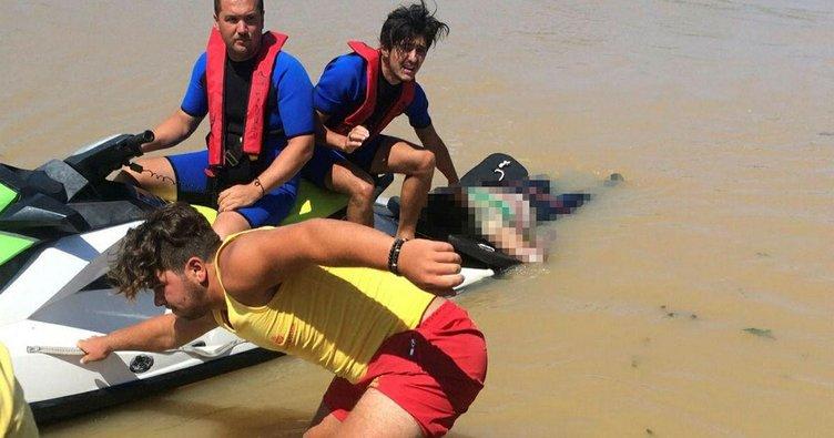 Beykoz'da denize giren çocuk boğuldu