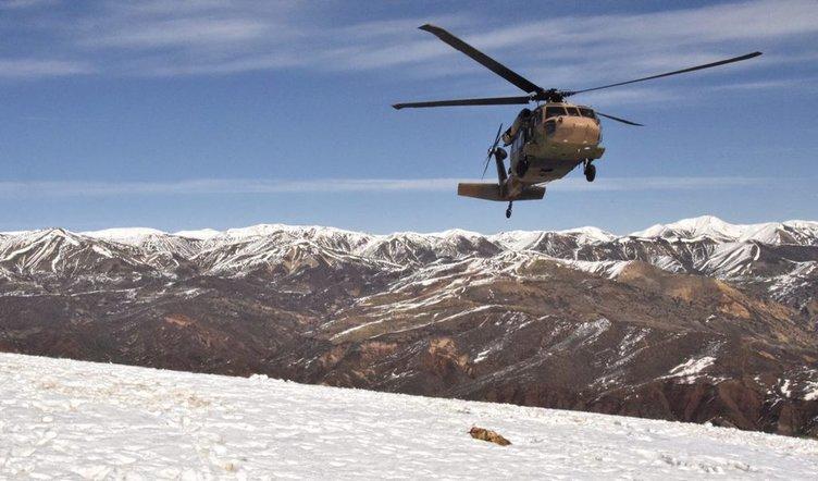 Terör operasyonları çetin kış şartlarında sürüyor