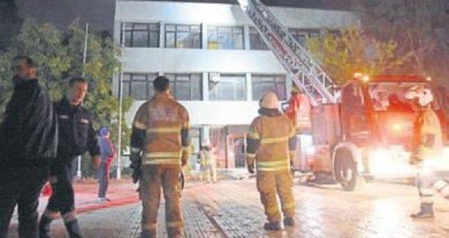İl Sporcu Sağlığı Merkezi'nde yangın