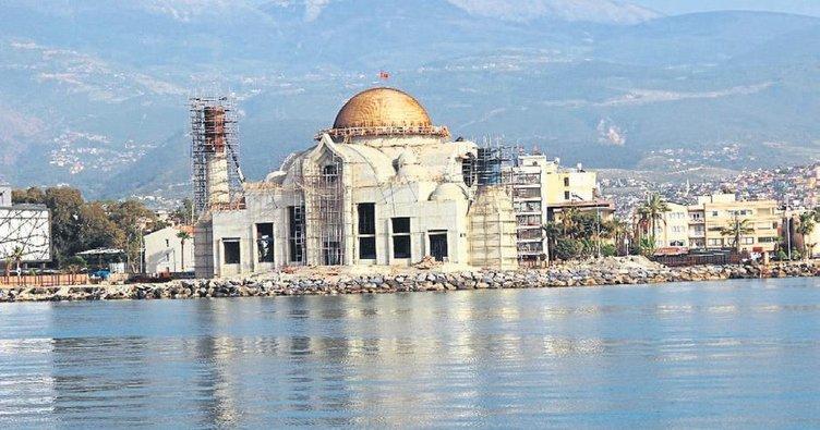 Sahil Camisi projesi hızla devam ediyor