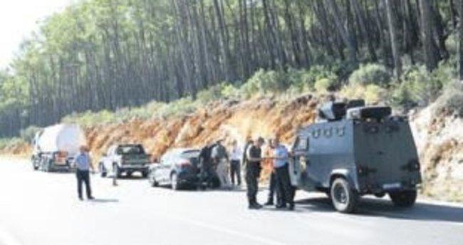 Antalya'da hain saldırı boşa çıktı