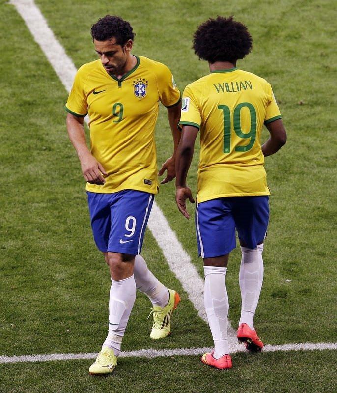 Brezilya tribünleri kahroldu