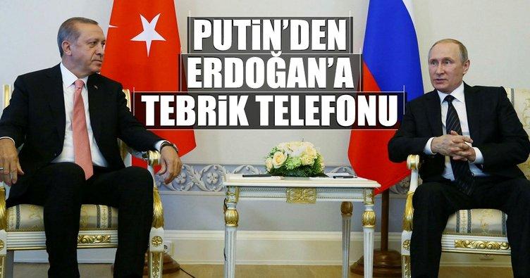 Putin'den Erdoğan'a tebrik telefonu!