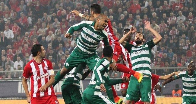 Yunanistan'da haftanın maçı Olympiakos'un