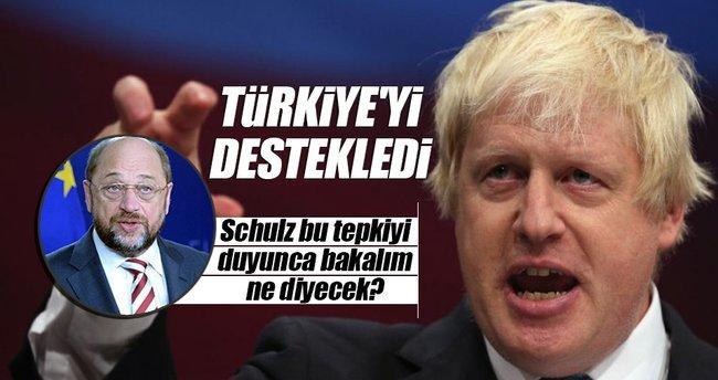İngiliz Bakan Johnson'dan Türkiye'ye destek