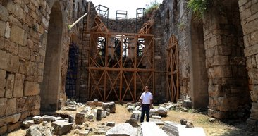 Fethin sembolü olan cami restore ediliyor