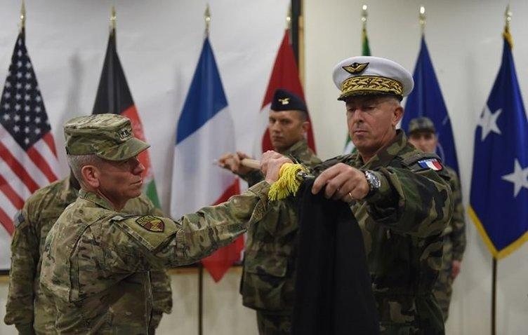 Afgan havalimanı Türk askerine teslim