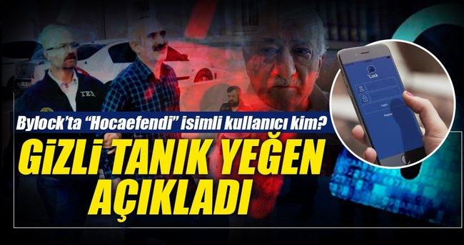 """""""ByLock'ta, Hoca Efendi isimli kullanıcı Gülen'di"""""""