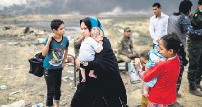 DEAŞ 7 bin kişiyi evinden etti