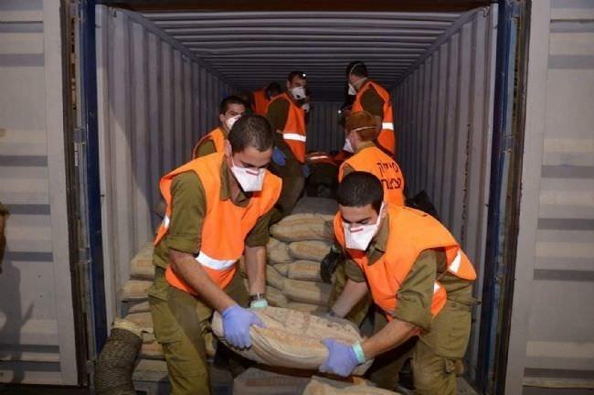 İsrail el koyduğu geminin fotoğraflarını yayınladı