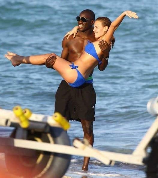 Demba Ba ve eşi Miami'de!