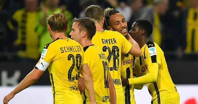 Borussia Dortmund ezdi geçti!