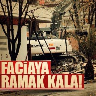 Kadıköy'de faciadan dönüldü