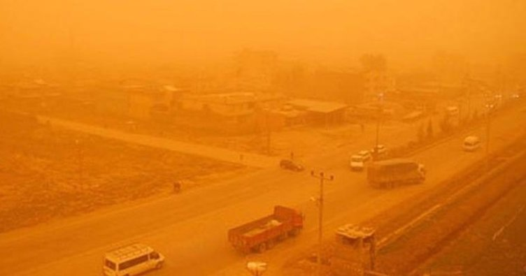 Meteorolojiden toz taşınımı uyarısı