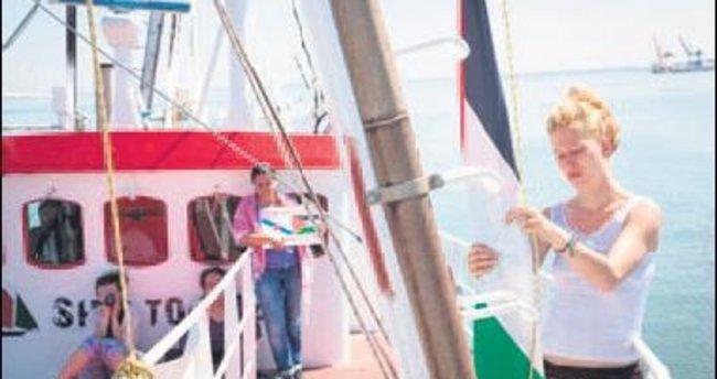 Gazze'ye Kadın Filosu yola çıktı