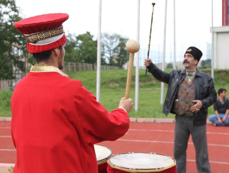 Samsun'da 13 farklı milletten mehter takımı oluşturuldu
