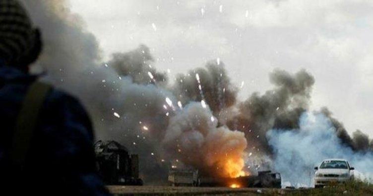 SON DAKİKA: ABD Suriye'yi vurdu!