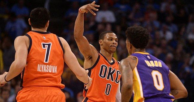 NBA'de Westbrook fırtınası