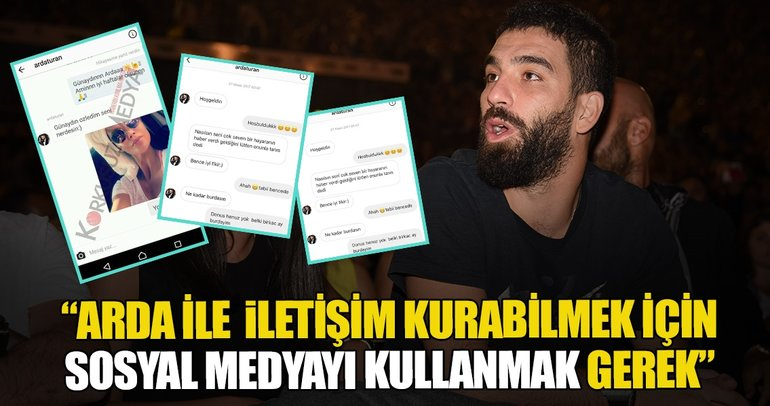 Arda Turan iddialar karşısında 'tıp' oynadı