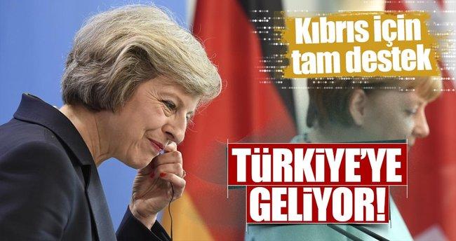 İngiltere BaşbakanıTheresa May Türkiye'ye geliyor