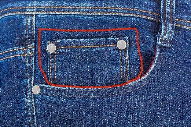 Peki ya kot pantalonunuzdaki bu ufak cepler?