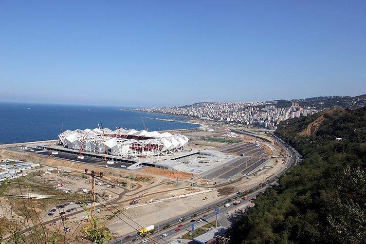 İşte Trabzonspor'un yeni stadının son hali