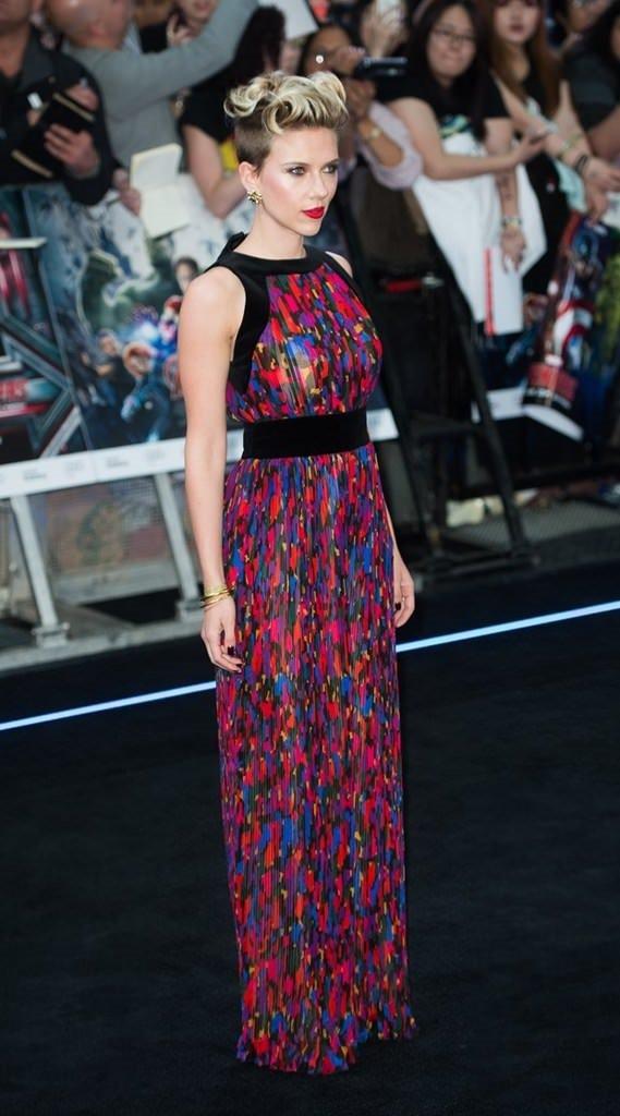 Scarlett Johansson'ın annelik halleri!