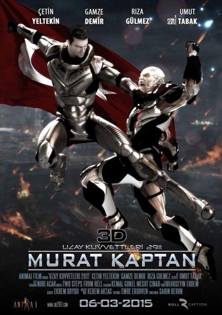 Murat Kaptan UK2911 3D filminden kareler