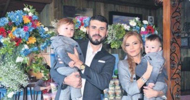 Atlas ve Aras Dindar'a görkemli 1. yaş günü partisi