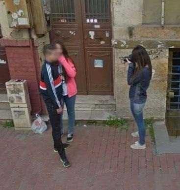 Google kamerasından yurdum insanı!