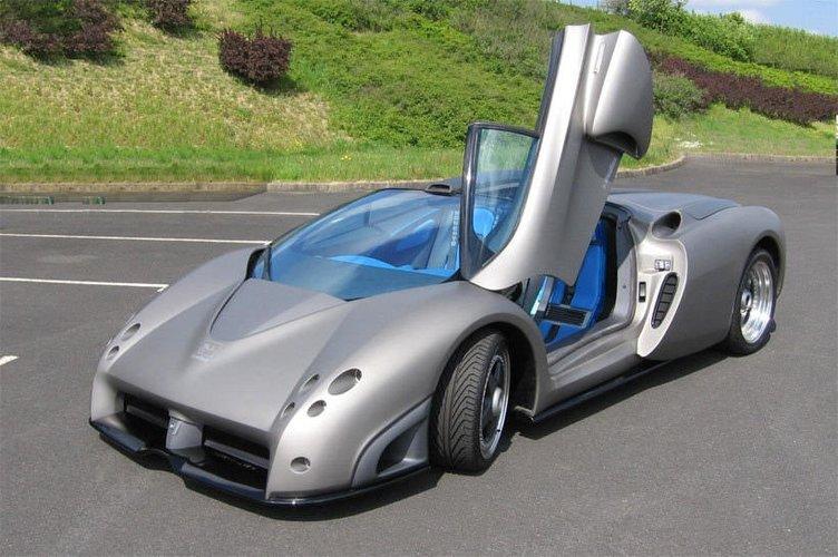 1,6 milyon euroluk otomobil