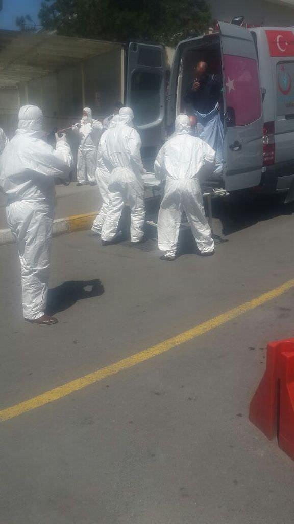 Tuzla'da 5 işçi kimyasal maddeden zehirlendi