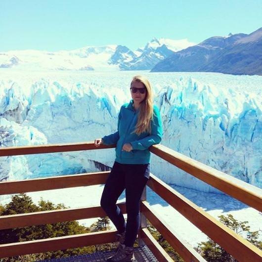 Buzulların üzerinde bir gün geçirmek
