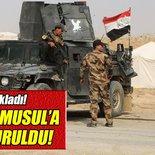 'Irak güvenlik güçlerinin Musul'a ilerleyişi durduruldu'