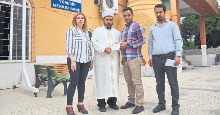 Camiye yardım cezadan kurtardı