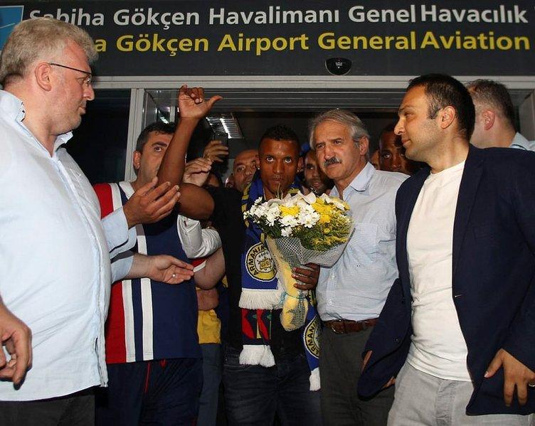 Galatasaraylı Chedjou'dan Nani tweeti